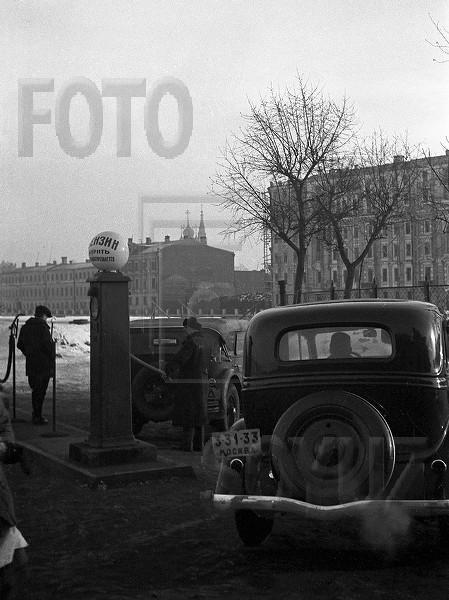 АЗС. Чистопрудный бульвар. Москва. 1930-е гг.jpg